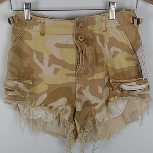 Wee The Free high waist button up NWT shorts